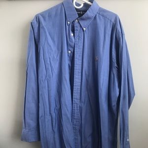 Beautiful Blue Ralph Lauren Button-Down